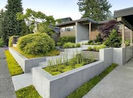 contemporary landscaping the images collection of door landscaping trendy front