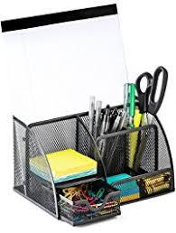 Wire Mesh Desk Accessories Drawer Organizers Office School Supplies Desk