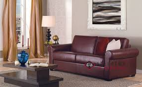 Queen Sleeper Sofa Leather by Customize And Personalize Sleepover Queen Leather Sofa By Palliser