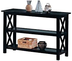 end table with shelves briarcliff casual sofa table with shelves console sofa tables
