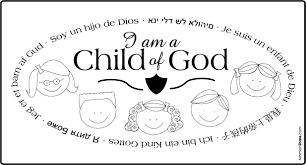 i am a child of god coloring page lds contegri com