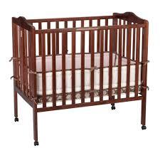 bedroom black mini crib portable mini crib