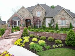 Front Yard Landscape Design by Landscaping Services In Brighton Michigan Cba Outdoors