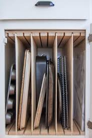 best 25 pan storage ideas on pinterest pan organization these cabinet hacks seriously increased my kitchen storage