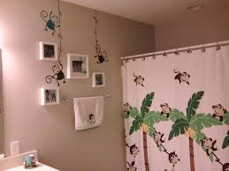 cute kids bathroom ideas house design name monkey bathroom decor for funny and cute look