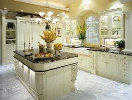 picture of white kitchen with dark floor hottest home design