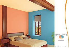 cool interior wall color combinations asian paints wall painting