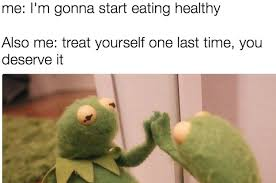 Eating Healthy Meme - 19 tweets about healthy eating that are funny because they re true