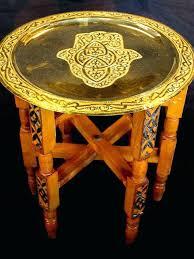 moroccan tea table stand moroccan tea table brass tray top folding tea table coffee and
