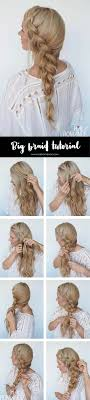 hair braiding styles step by step best 25 hair tutorials ideas on pinterest pull through braid
