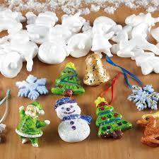 buy assorted polystyrene christmas decorations 35pk tts
