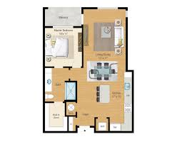 1 2 and 3 bedroom floor plans aqua on the levee