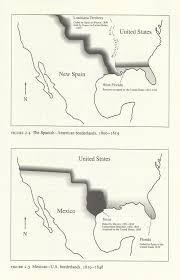 Map Of Mexico 1821 Ambiguous Maps And Border Shadows Towards A Gradient Divide