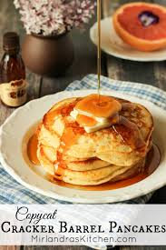 copy cat diner style pancakes no buttermilk needed recipe