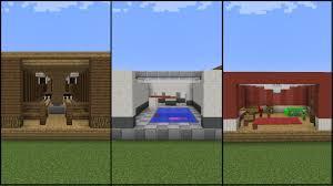 Minecraft Bedroom Ideas 10 Minecraft Recreation Room Designs Youtube