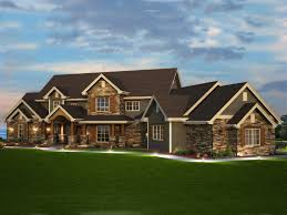luxury home plans elk trail rustic luxury home plan 101s 0013 house plans and more