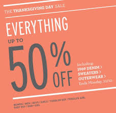 gap canada thanksgiving sale up to 50 everything until oct