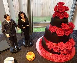 halloween wedding cake ideas knot for life