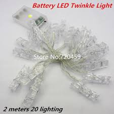 light and battery store 2 meters 20 lighting led twinkle light battery powered picture
