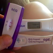 home pregnancy test one line dark other light what does a positive pregnancy test really look like page 5