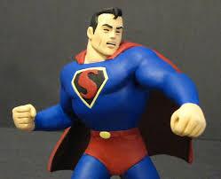 awesome kind fleischer superman statue