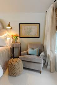 bedroom furniture solid wooden chair beige cushion carpet