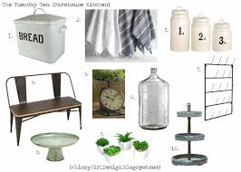 farmhouse kitchen canisters vintage white chalkboard canisters numbered canisters set of 3 4 bistro bench 5 vintage inspired scale clock 6 large glass carboy jug 7 wall mount drying rack
