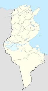 map of tunisia with cities jendouba
