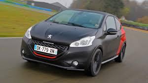 peugeot big cars first drive peugeot 208 1 6 thp gti 30th 3dr 2014 2015 top gear