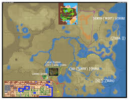 The Legend Of Zelda A Link Between Worlds Map by Cartography Of Zelda Breath Of The Wild Nerdy But Flirty