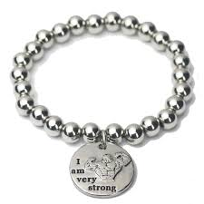mens charm bracelet images 2018 elasticity fashion mens round ball chain bracelet dog tag jpg