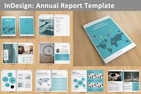 ind annual report template annual report v129 brochure templates creative market