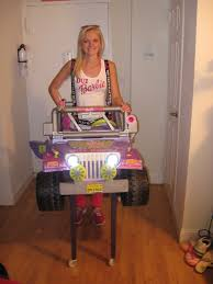 jeep power wheels for girls my costume for halloween 2012 dui barbie i totally pimped out
