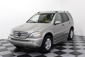 mercedes suv classes 2005 used mercedes m class ml500 v8 awd special edition at