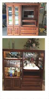 Entertainment Bar Cabinet with Armoire Turned Into Bar Omg A Personal Favorite From My Etsy