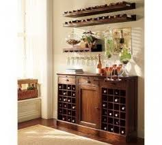 Small Sideboard With Wine Rack Wine Rack Buffet Table Foter