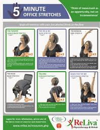 Office Exercises At Your Desk 5minute Reliva Office Exercises While Sitting At Your