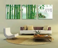 natural elegant interior living room with modern house wall