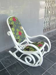 Rocking Chair Vancouver Paint And Reupholster Our Bentwood Rocker To Fit The Living Room