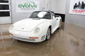 80s porsche 959 someone turned a totaled 1988 porsche 911 into a 959 cabriolet 72