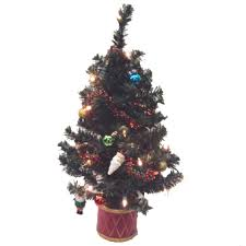 Pre Decorated Tabletop Christmas Trees by Table Top Christmas Trees Small Christmas Trees Potted