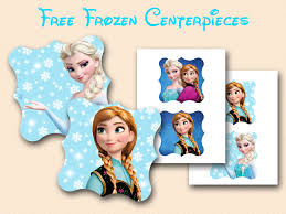 frozen centerpieces free disney s frozen printable baby shower ideas themes