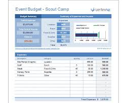 15 expense tracker templates free word excel pdfevent budget