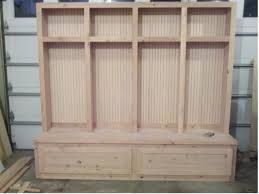 mudroom bench woodworking plans entryway pinterest mudroom