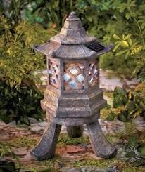 Pagoda Landscape Lights Pagoda Concrete Lantern Statue Garden Decor