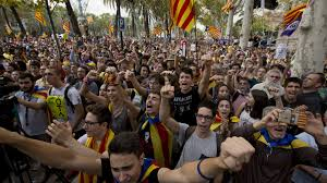 catalonia independence poll protests u2013 channel 4 news