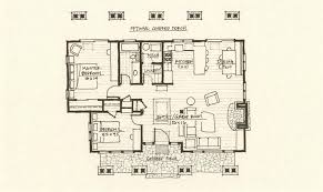 cabin floor plan cabin plan mountain architects hendricks architecture idaho