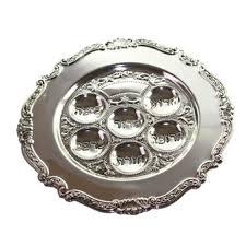 buy seder plate buy wide border scroll trim seder plate israel catalog