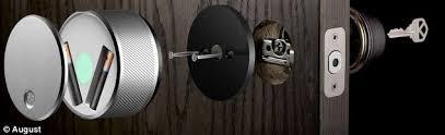 Interior Keyless Door Locks Bluetooth Front Door Lock Attractive The Smart That Lets You Open