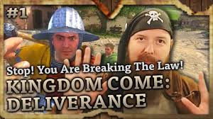 Stop Breaking The Law Meme - stop you are breaking the law kingdom come deliverance
